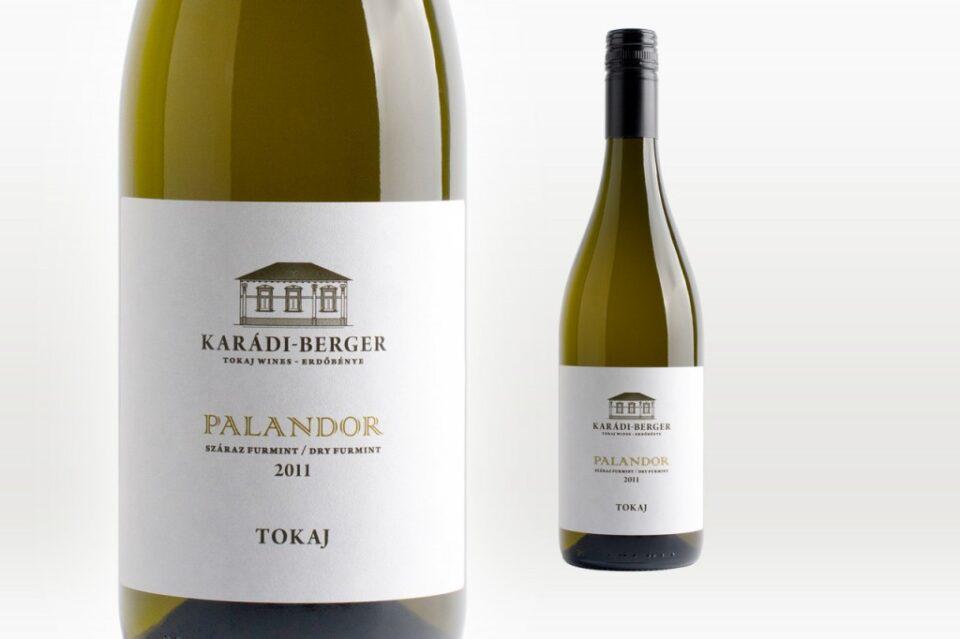 """Karádi-Berger Tokaji Furmint """"Palandor"""" 2011"""